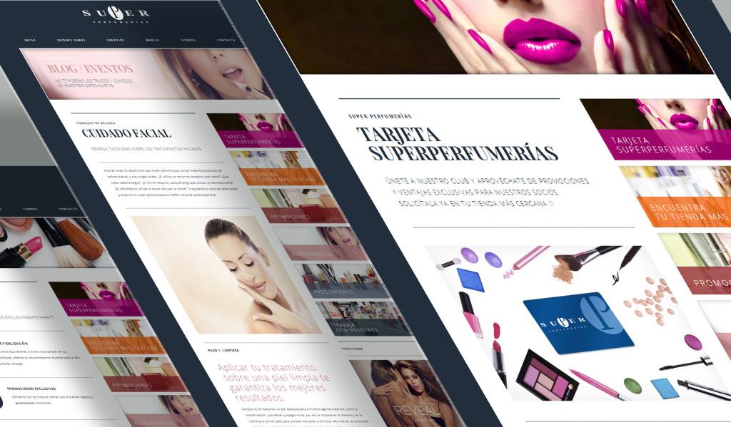 Diseño Web Superperfumerías