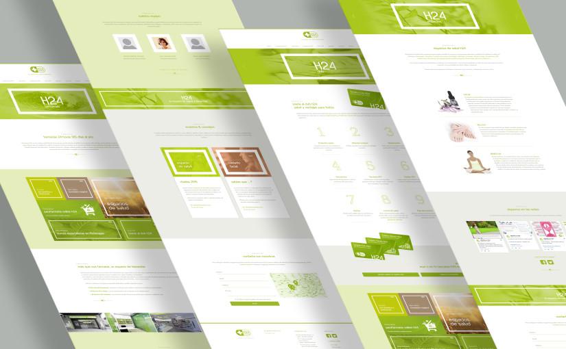 Proyecto Web y Diseño Gráfico: <br> Farmacias H24