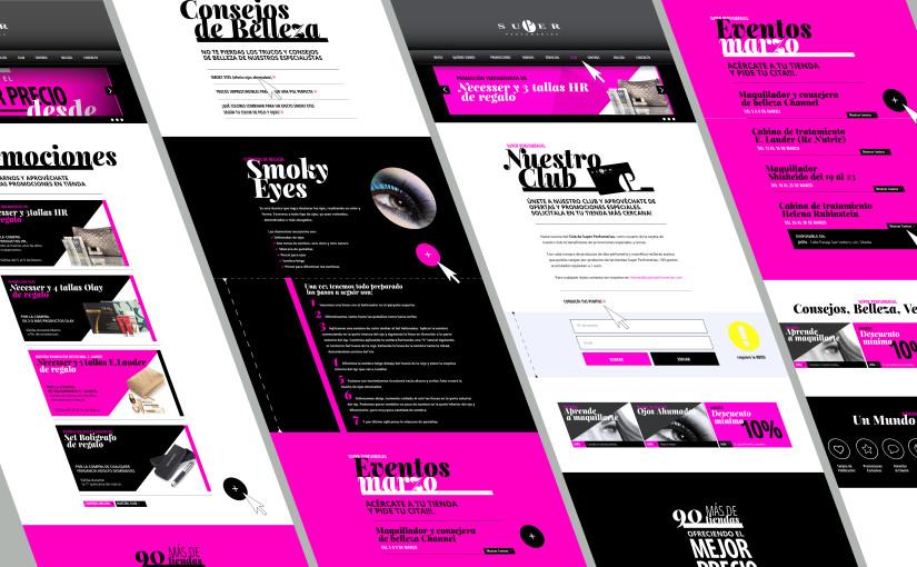 Propuesta de Diseño Web Perfumerías