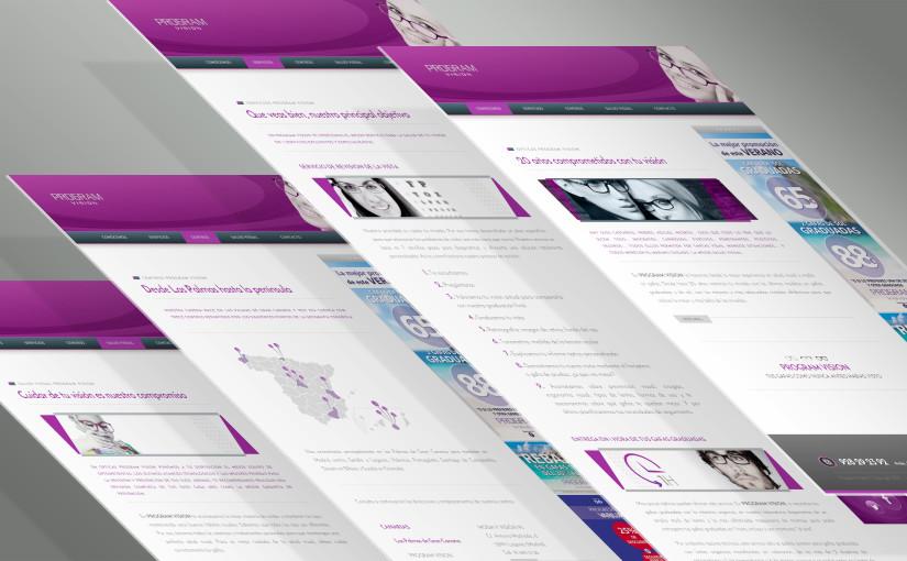 Proyecto Diseño Web: <br>Ópticas Program Vision