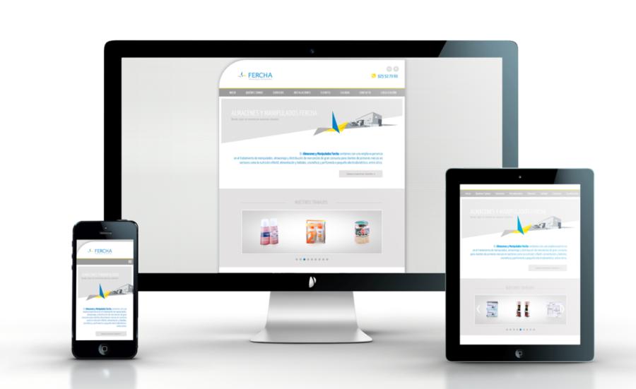 Diseño Web Fercha Multidispositivo Responsive