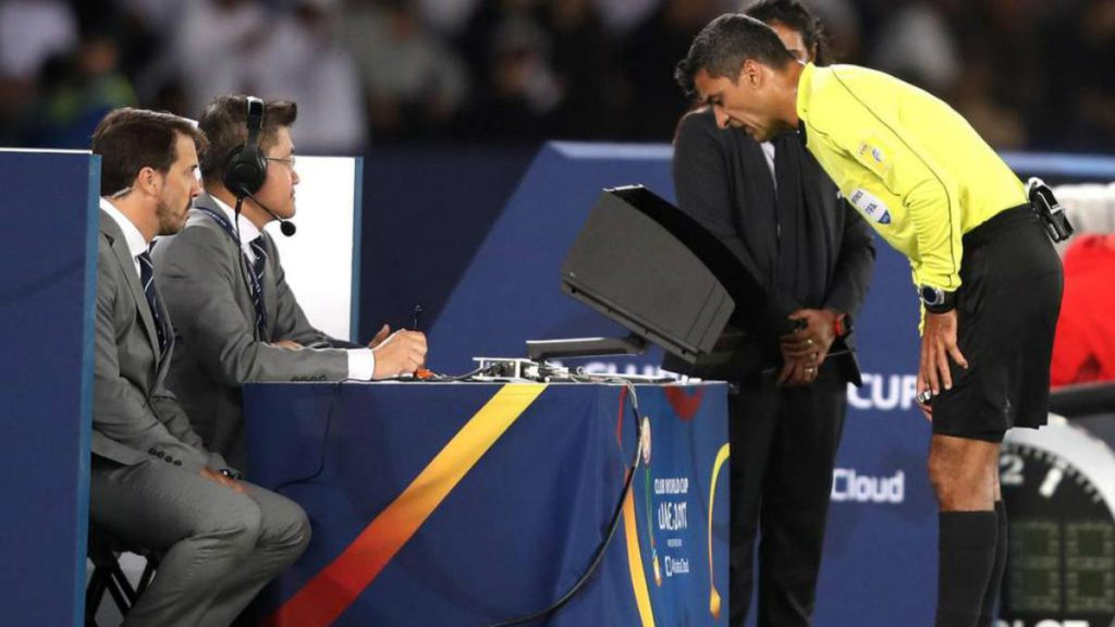 video assistant referee technology