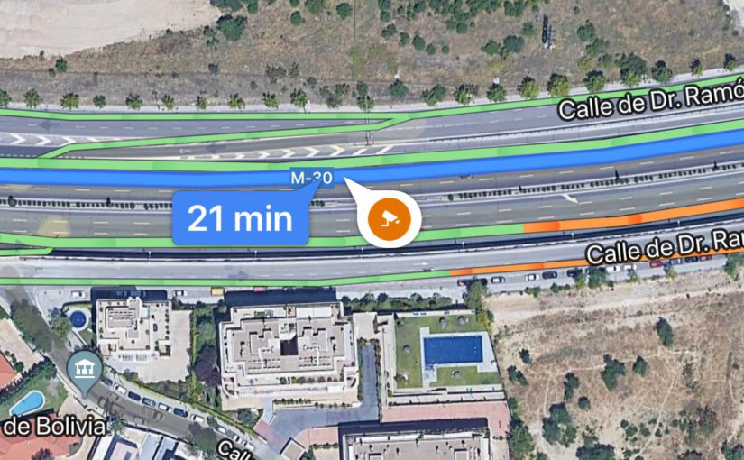 Llegan los avisos de radar en Google Maps