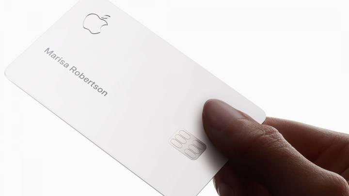 La tarjeta de crédito de Apple
