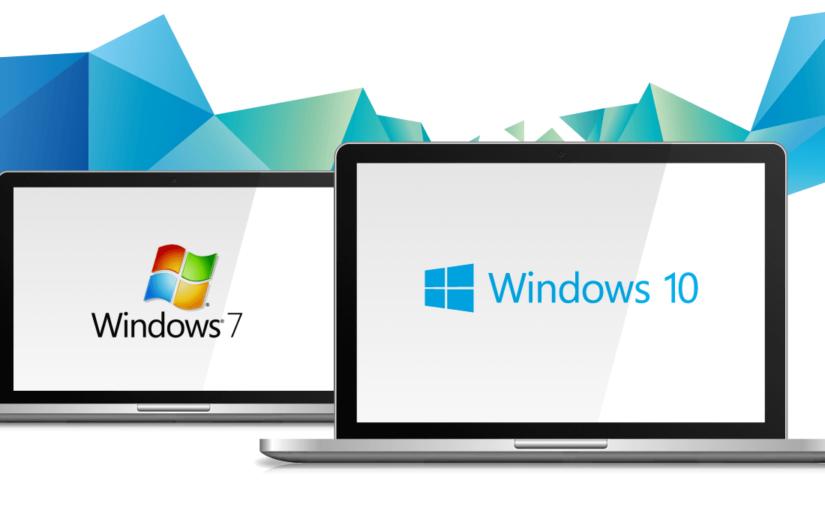 Migración de Windows 7 a Windows 10