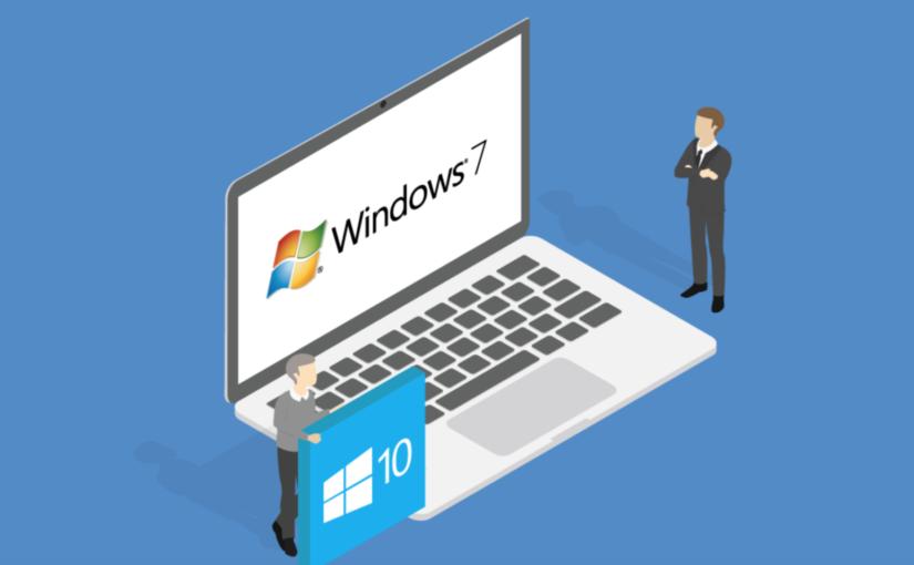 El precio de no actualizar Windows 7 a Windows 10