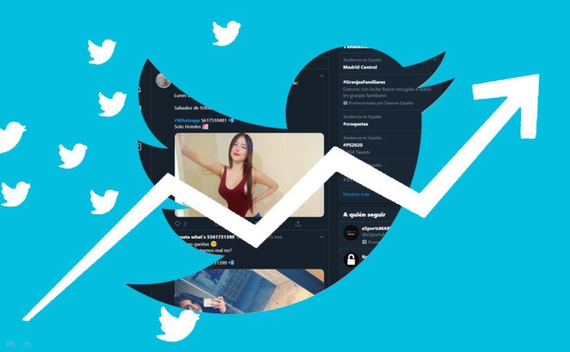 WhatsApp tendencia en Twitter por culpa de un Pornbot