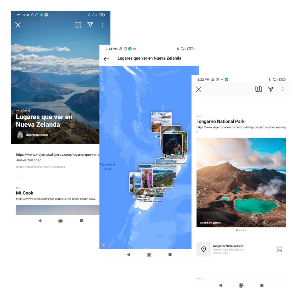 Nueva forma de comunicar con las guías de Instagram